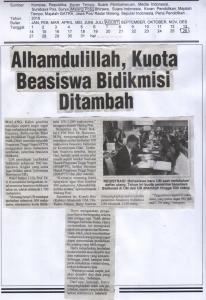 Malang Post, 26 Agustus 2016