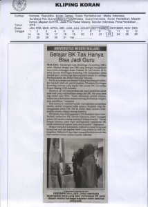 Malang Post, 23 September 2016