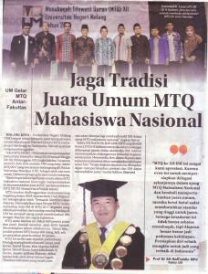 Malang Post 31 Oktober 2016