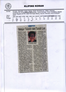 Malang Post 15 oktober 2016