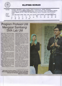 Malang Post 8 November 2016