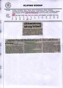 120 Brand Bersaing Jadi yang Terfavorit Jawa Pos Radar Malang 31 Januari 2017
