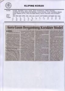 Modal Cantik Saja TakCukup di MFM, Jawa Pos Radar Malang 29 Maret 2017
