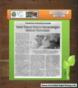 Gelar Diskusi Makna Kemenangan  Setelah Ramadan , Surya 17 Juni 2017
