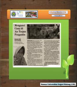 Mengunci  Cinta di  Air Terjun  Pengantin , Surya 22 Juli 2017..