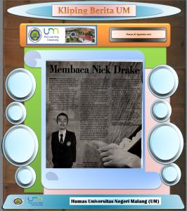Membaca Nick Drake, Surya 16 Agustus 2017......