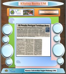 46 Penulis Pentigraf Terbitkan Buku, Surya 28 Agustus 2017