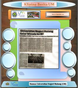 Universitas Negeri Malang Gelar Wisuda ke 87, Surya 10 September 2017