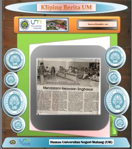Mendalami Kejayaan Singhasari, Surya 14 Desember 2017
