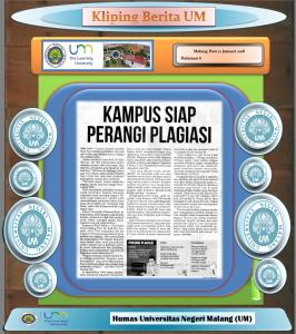 KAMPUS SIAP PERANGI PLAGIASI, Malang Post 12 Januari 2018