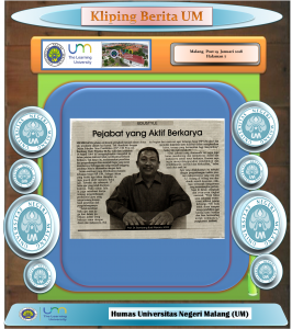 Pejabat yang Aktif Berkarya, Malang Post 19 Januari 2018