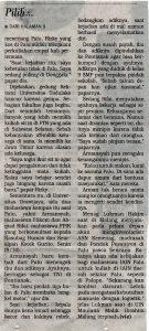 Media Cetak Surya 9 Oktober 2018.