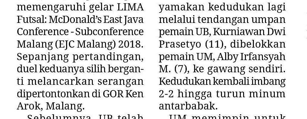 Media Cetak Memo X 10 Oktober 2018