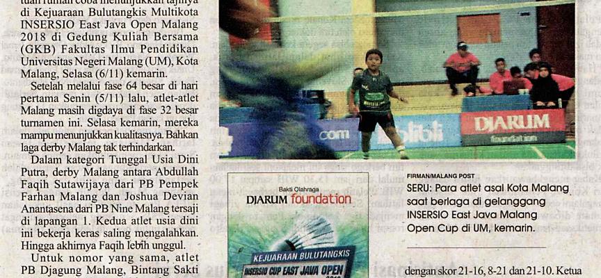 Malang Post 7 November 2018
