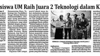 Media Cetak Memo X 15 November 2018