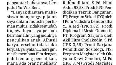 Media Cetak Memo X 19 November 2018