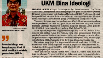 Media Cetak Surya 1 November 2018.