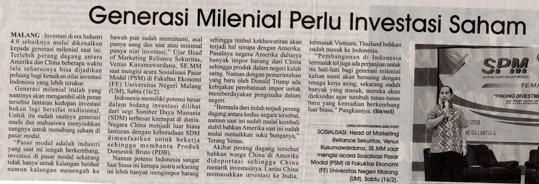 Media Cetak Malang Post 17 Februari 2019